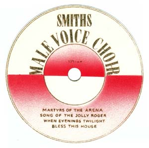 1950 - male voice choir EP Spindle Label