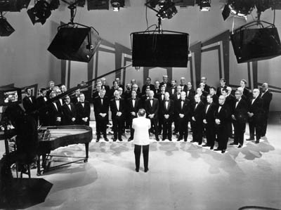 1976 - male voice choir - ITV Studios - Bristol