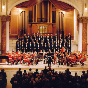 1990s - male voice choir with the band of the life guards