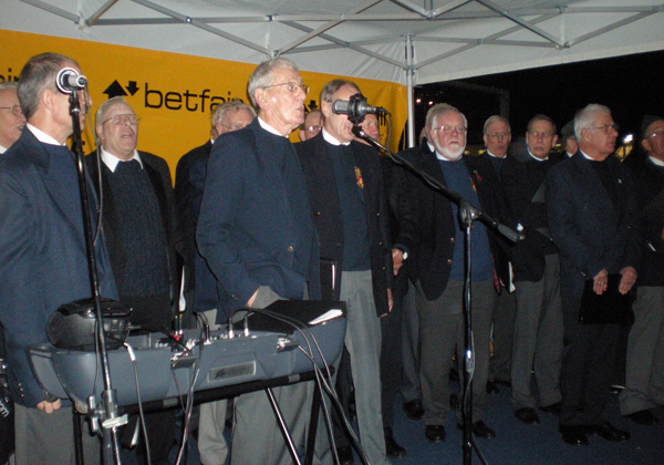 The Cotswold Male Voice Choir at Twickenham